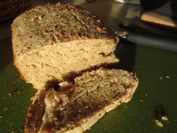 gluten-free herb bread