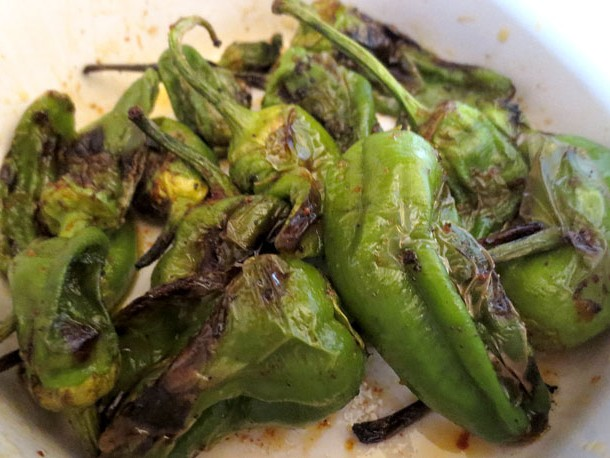 grilled padron peppers recipe