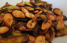 Roasted Kabocha Seeds Recipe