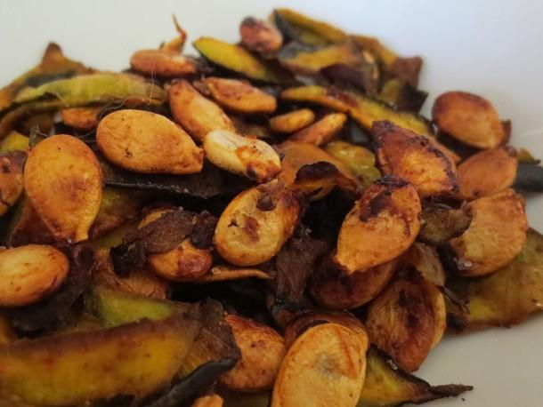 Roasted Kabocha Seeds Recipe