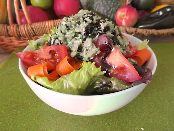 Raw Vegan Chicken Salad Recipe