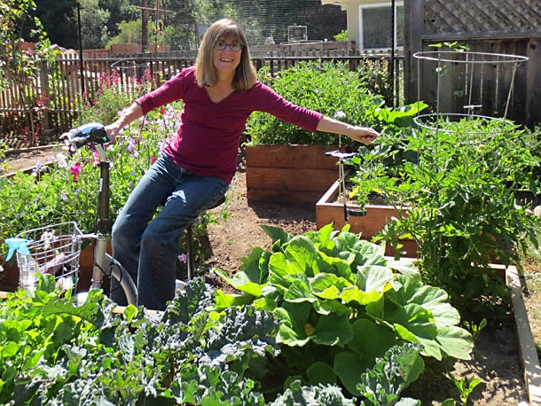 Garden Tour At www.healthyveggie.co