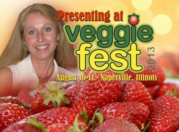 Liz Diamond at Veggie Fest 2013